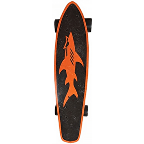 Maui and Sons Champ Micro Kicktail Cruiser - Orange/Black