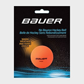 Bauer HydroG Warm Weather Hockey Ball - Orange