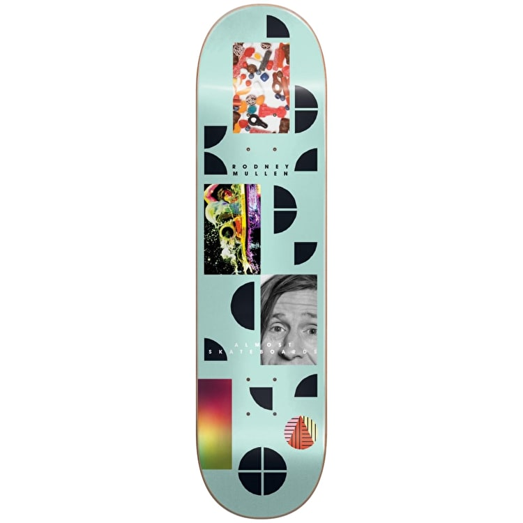 Almost Fragments - Rodney Mullen Skateboard Deck 8""