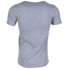 Hype Flower Circle T-Shirt - Grey