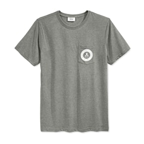 WeSC Icon Mini Circle T-Shirt - Grey Melange