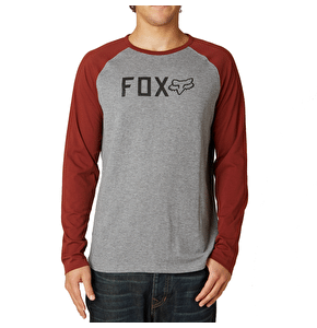 Fox Locked L/S Thermal T-Shirt - Heather Graphite