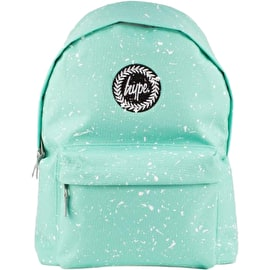 Hype Speckle Backpack - Mint/White