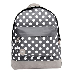 Mi-Pac Backpack - All Polka Dot Charcoal/White