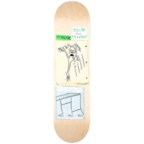 Toy Machine Skateboard Deck - Scraps Provost 8.25