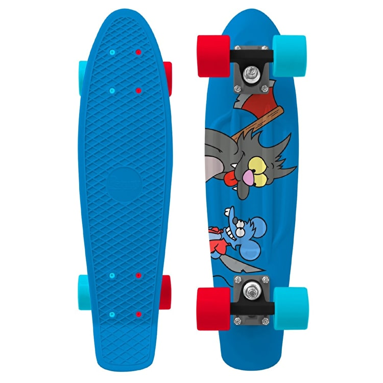 Penny X Simpsons Itchy & Scratchy Complete Skateboard - 22""