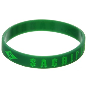 Sacrifice Wrist Band - Lime Green