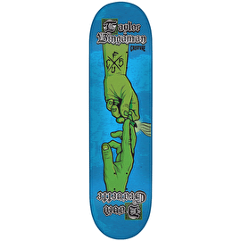 Creature The Sacred Pass Bingaman Skateboard Deck - Blue/Green 8.375