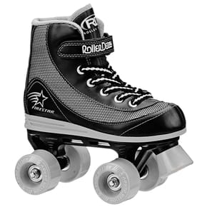 B-Stock Roller Derby FireStar V2 Quad Skates - Black/Grey Junior 13 (Ex-Display)