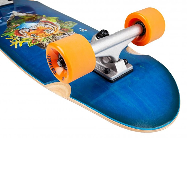 D-Street Surreal Complete Cruiser - Tropical 29.5""