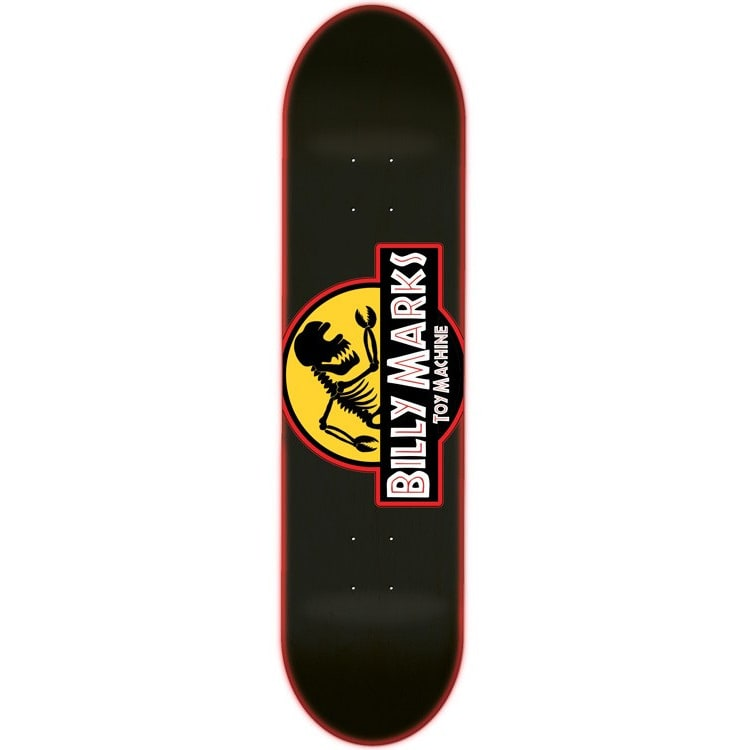 Toy Machine Marks Jurassic Bill Skateboard Deck - 8.25""