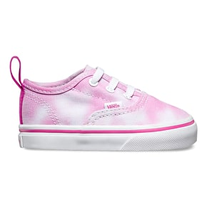 Vans Authentic V Lace Toddler Shoes - (Tie Dye) Rose