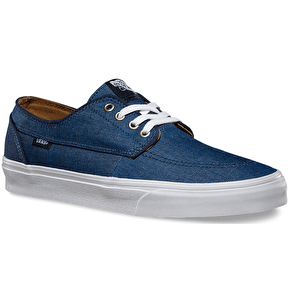 Vans Brigata Shoes - (C&C) Dress Blues/True White