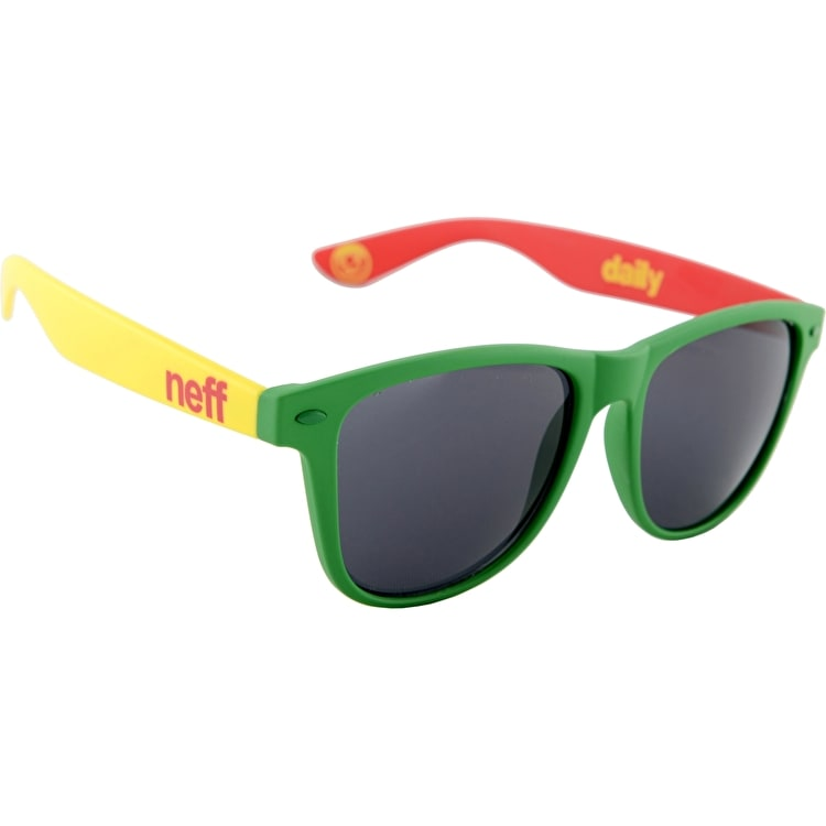 Neff Daily Sunglasses - Soft Touch Rasta