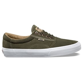 Vans Rowley Solos Skate Shoes - Grape Leaf/Khaki/White