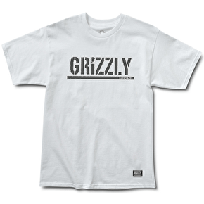 Grizzly Premiere OG Stamp T-Shirt - White