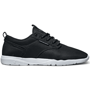 DVS Premier Shoes - Black/White Mesh