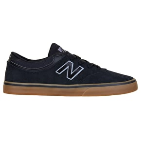 New Balance Quincy 254 Skate Shoes - Black/Gum