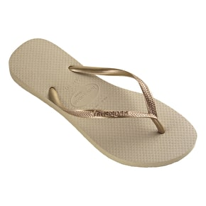 Havaianas Slim Womens Flip-Flops - Rose Gold