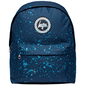 Hype Speckle Backpack - Navy/Metallic Blue