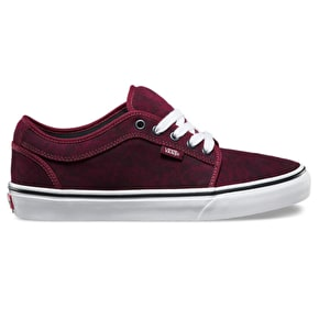 Vans Chukka Low Shoes - (Tie-Dye) Port/Black