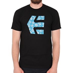 Etnies Icon Fill T-Shirt - Black