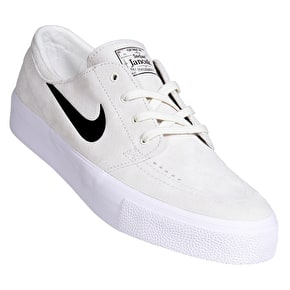Nike SB Zoom Stefan Janoski HT Skate Shoes - Summit White/Black