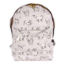 Mi-Pac Cats Backpack - Light Grey
