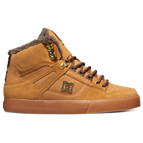 DC Spartan High WC WNT Shoes - Wheat/Turkish Coffee