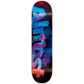 Almost Blotchy Logo Skateboard Deck - Blue 7.5