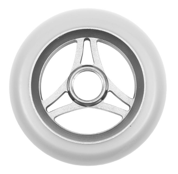 Image of Aztek Trilogy 110mm Scooter Wheels - Raw/White
