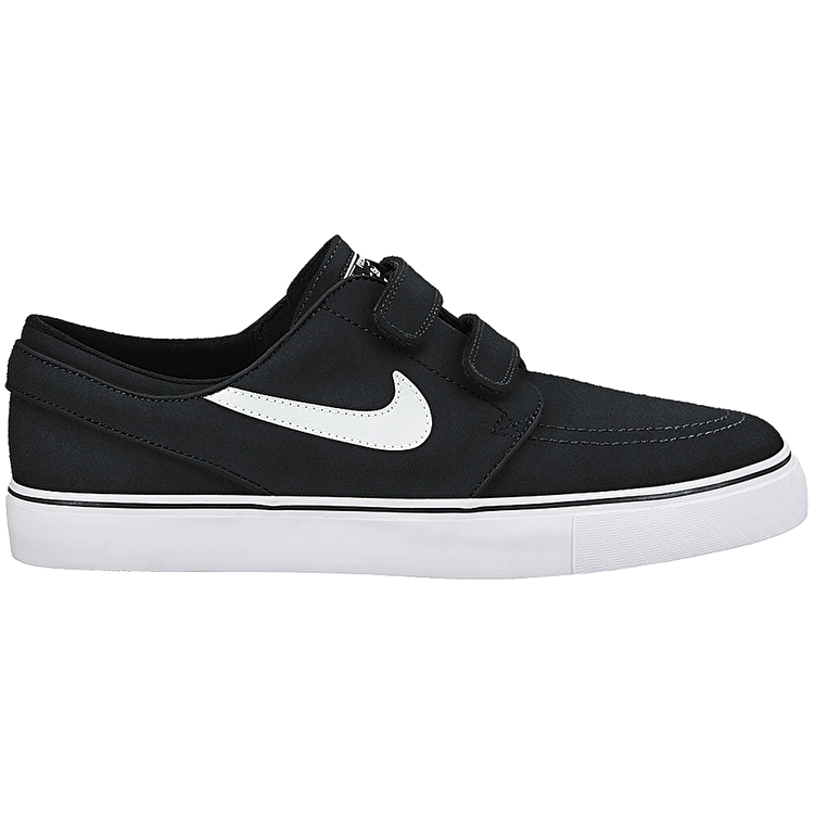 Nike SB Stefan Janoski AC Kids Skate Shoes - Black/White