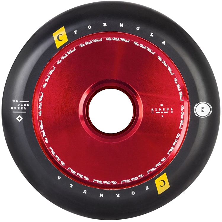 UrbanArtt Hollow Core V2 Scooter Wheel 110mm - Red