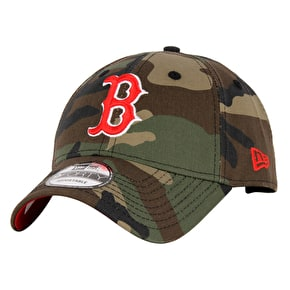 New Era Camo Team 9Forty Cap - Boston Red Sox