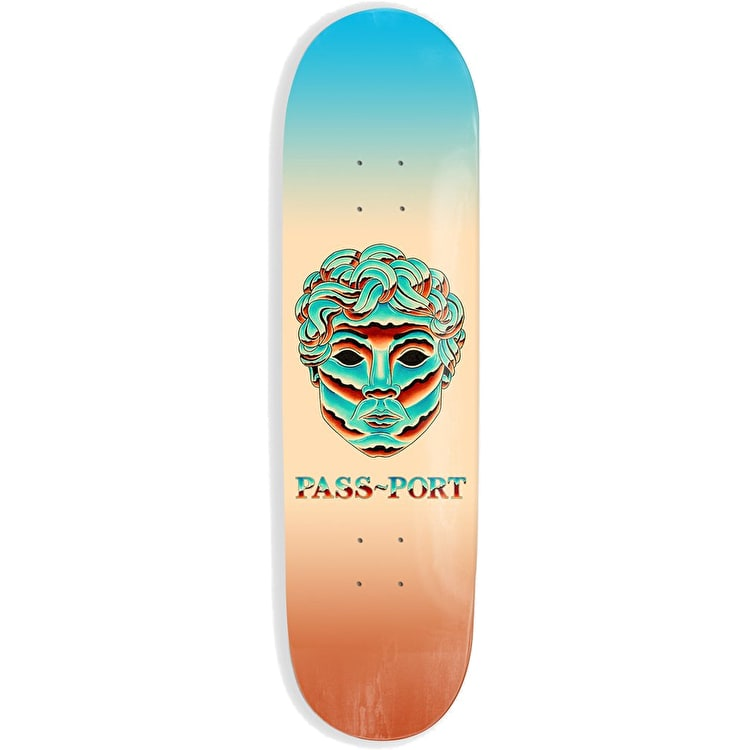 Pass-Port Chrome Series - Man Skateboard Deck 8.5""