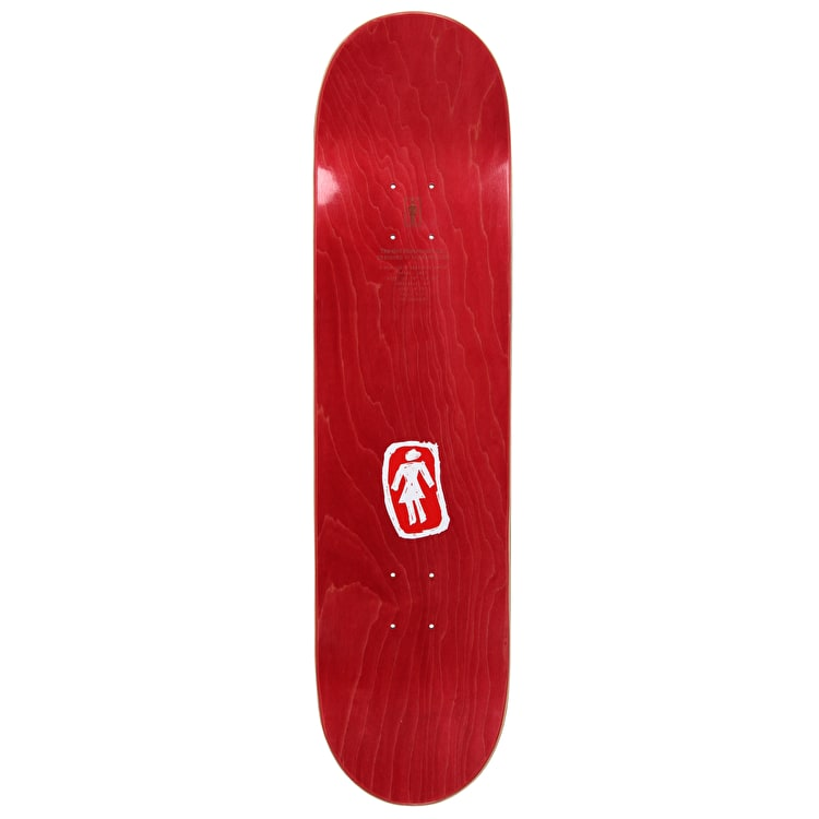"Girl Sketchy OG Skateboard Deck 8.25"" - Andrew Brophy"
