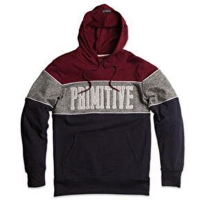 Primitive Sprinter Piped Hoodie - Midnight