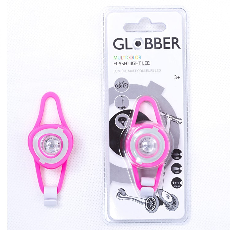 Globber Scooter Flash Light LED - Pink