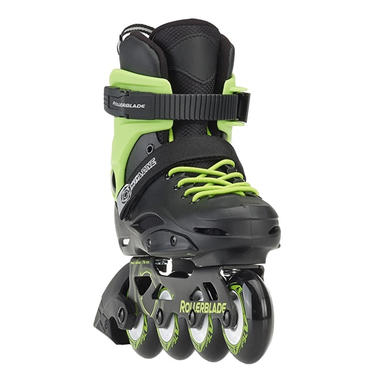 Rollerblade Cyclone Roller Blades - Black/Green