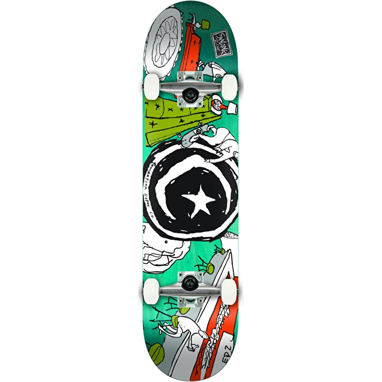 """Foundation Star & Moon At Home Complete Skateboard - 8.25"""""""