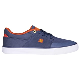 DC Wes Kremer Skate Shoes - Navy/Gold