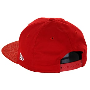 New Era 9Fifty NY Snapback Cap - Red/Paisley