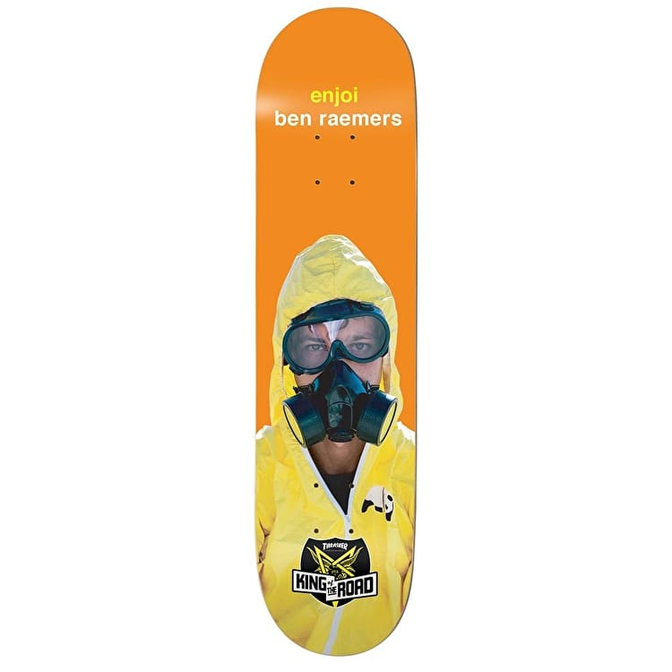 Enjoi King Of The Road Series Skateboard Deck - Raemers 8.25""