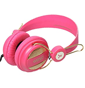 WeSC Headphones Oboe - Hot Pink