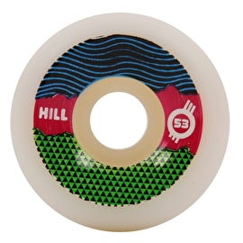 Force Radical Pro Hill Skateboard Wheels 53mm