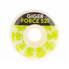 Force Jonny Giger Skateboard Wheels 52mm - Tie Dye
