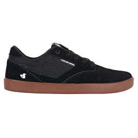 DVS Pressure SC+ Skate Shoes - Black/Gum Suede/Chico