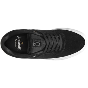 Emerica Reynolds 3 G6 Vulc Skate Shoes - Black/White/Gold