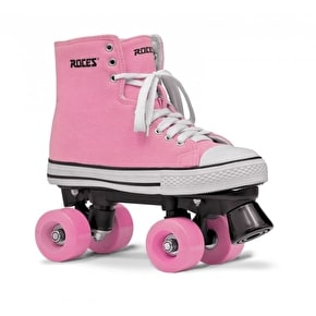 Roces Quad Roller Skates - Chuck Pink