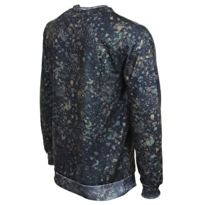 Hype X Urban Decay Splat Crewneck - Camo/White
